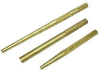 3PC SOLID BRASS DRIFT PUNCH SET