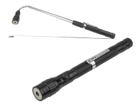 MINI LED TORCH WITH TELESCOPIC MAGNETIC PICK UP TOOL