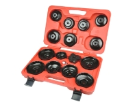 15 PCS CUP TYPE OIL FILTER WRENCHES