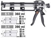 PROFESSIONAL CAULKING GUN