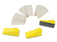 15PCS HAND SANDING BLOCK SET