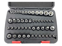 51PCS SOCKET AND SOCKET BIT SET