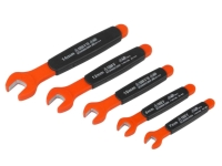 5PCS VDE 1000V INSULATED OPEN END WRENCH SET