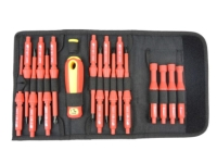18 PCS VDE 1000V INSULATED INTERCHANGEABLE SCREWDRIVER SET