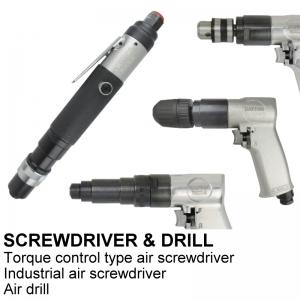 SCREWDRIVER & DRILLS