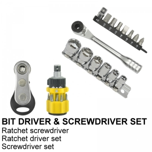 BITS DRIVER & SCREWDRIVER SET