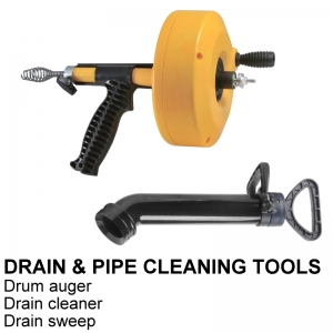 DRAIN & PIPE CLEANING TOOLS