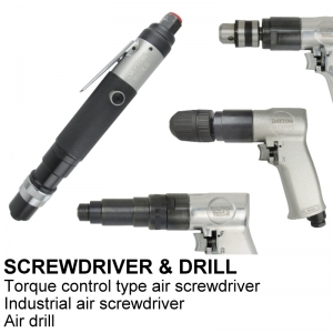 SCREWDRIVER & DRILLS
