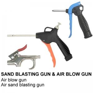 SAND BLASTING GUN & AIR BLOW GUN