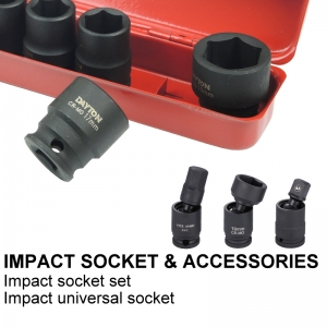 IMPACT SOCKET & ACCESSORIES