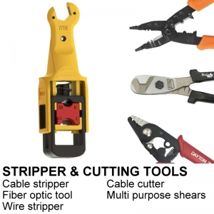 STRIPPER AND CUTTING TOOLS
