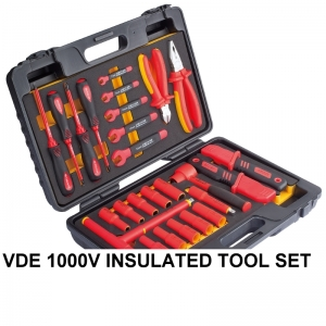 VDE 1000V INSULATED TOOL SET